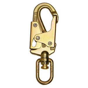 Steel Double Locking Swivel Snap Hook