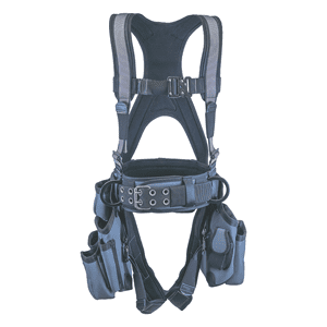Deluxe Tool Bag Harness - Silver