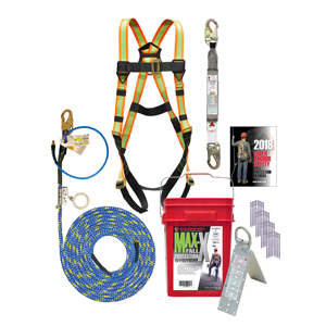 MAX-X Safety Kit X-Line ADP Rope Grab